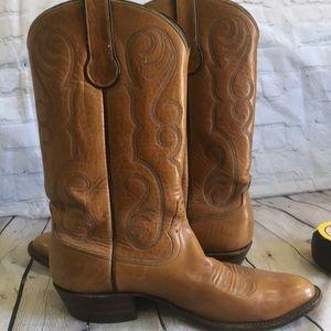 Rios of Mercedes handmade boots men's 9D